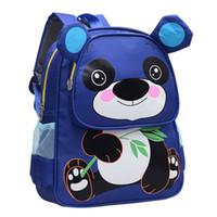Wholesale Girls Backpacks Panda - Wholesale School Bags for Girls Boys Children Schoolbag Kids Bookbags panda backpack nylon child bags fashion