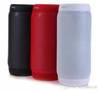 mezcla estéreo al por mayor-TG 106 Altavoz inalámbrico Bluetooth Altavoz exterior de alta calidad portátil de camuflaje Estéreo Color mezclado de color libre de DHL
