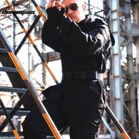 traje de hombre uniforme del ejército al por mayor-Uniform Men CS Paintball Suit Army Combat BDU Uniforme Hunt Suit Wargame COAT + PANTS Set Tactical Jacket