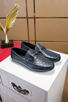 Wholesale braided wedding dress online - 2018 Brand mens shoes genuine leather handmade braided luxury wedding party men dress shoes for male