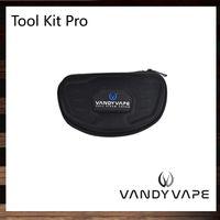 tornillos vape al por mayor-Vandy Vape Tool Kit Pro con pinzas de cerámica Kits de bobina Tijeras y alicates Tornillos hexagonales interiores para RDA 100% original
