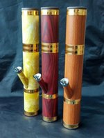Wholesale Glass Chimneys - Bakelite chimney Wholesale Glass bongs Oil Burner Pipes Water Pipes Glass Pipe Oil Rigs Smoking Free Shipping