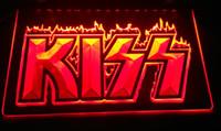 ingrosso bacio segno-LS2447-r KIss Bar LED Neon Light Sign Decor Dropshipping di spedizione all'ingrosso 8 colori tra cui scegliere