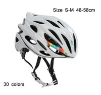 Wholesale helmets parts - Tour de France Super Light 230g mtb Adults 26 hloes mojito cycling helmets prevail evade road bike helmet bicycle parts
