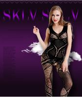 ingrosso calze abito caldo-Calze sexy del corpo delle nuove donne calde Calze Vestito sexy Babydolls Calze a rete Calze Prodotti erotici Erotico