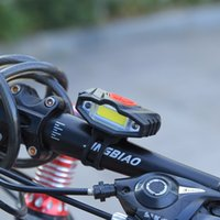 ingrosso luci di bicicletta ad alta potenza-Bicicletta Front Light High Power USB impermeabile Ricaricabile Bike Light Safety Warning LED Manubrio Bicicletta Bycicle