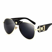 Wholesale clear boutique - High quality aviator sunglasses black lens Boutique fashion sunglasses UV sunglasses Comfortable and comfortable to wear