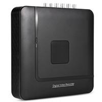 ingrosso cctv 16 sistemi di telecamere-Hiseeu A1004N 1080N 4CH 5 in 1 Mini DVR VGA Sistema di sicurezza HDMI per telecamera IP CCTV Kit