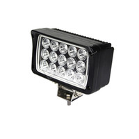 Wholesale tractor headlights resale online - W x6 tractor headlight truck trailer agriculture vehicles construction heavy duty vehicles work lamp