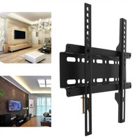 Wholesale flat panel tv mounts wall for sale - Group buy Sale Universal TV Wall Mount Bracket Fixed Flat Panel TV Frame for Inch LCD LED Monitor Flat Panel