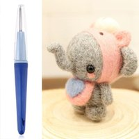 Wholesale needle tool Handle Holder Wool Needles Felting Tool with Needles Knitting Accessories DIY Craft