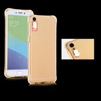 Wholesale vivo transparent phone for sale - Group buy For Vivo X20 Plus X9S Xplay Shockproof Soft Rear Cover Case TPU Frame Flash Up Light Incoming Call LED Phone Case