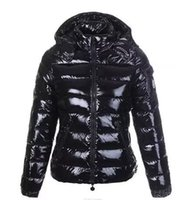 ingrosso cappotto di bambù-Designer Giacche Vendita calda Uomo Inverno Patch Down Jacket Casual Hip Hop caldo giacca trendy uomo bianco anatra Giù uomo cappotto invernale nero