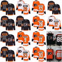 Wholesale Green Patrick - 2018 Philadelphia Flyers Hockey Jerseys 28 Claude Giroux 53 Shayne Gostisbehere 17 Wayne Simmonds 93 Jakub Voracek 19 Nolan Patrick Jerseys