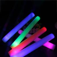 led köpük sopa yanıp sönen ışık toptan satış-LED Işık Sticks Köpük Sahne Konser Parti Yanıp Sönen Aydınlık Sticks Cadılar Bayramı Noel Festivali Çocuk Oyuncakları Hediyeler WX9-965
