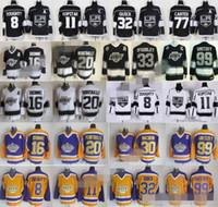 Wholesale Nylon King - 2018 Hockey LA Los Angeles Kings Jerseys 8 Drew Doughty 11 Anze Kopitar 32 Jonathan Quick Jeff Carter Marcel Dionne Luc Robitaille Gretzky