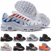 sports shoes d48ef 40433 2018 Mercurial Tn Plus SE 2 Coupe du monde Drapeau international France  Chaussures de course Tns Hommes Femmes NIC QS Air Sports Sneakers Chaussures