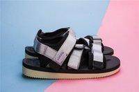 Wholesale Nice Sandals - 2018 Newest Nice Quality Brand new Suicoke kisee-V OG-044V Webbing rubber Sandals Olive Slides With Box