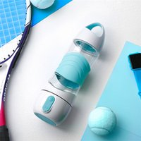 rociador de belleza al por mayor-Botella de agua inteligente Deportes Mist Sprayer Botella de spray de belleza fresca portátil con luz SOS LED T1I676