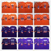 Wholesale flag football jerseys - Clemson Tigers 2 Sammy Watkins 4 DeShaun Watson 9 Wayne Gallman II 10 Ben Boulware College Football Jersey Men Flag Jerseys