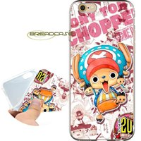 Wholesale apple chopper resale online - Coque One Piece Tony Chopper Cases for iPhone X S Plus S SE C S iPod Touch Clear Soft TPU Silicone Cover