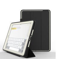 Wholesale auto dot - For iPad 6 Tablet Case Auto-Sleep Awake Multi-Folding Stand Protective for Apple iPad Mini 2 Case