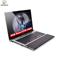 intel hd achat en gros de-15.6inch 8Go ram 2tb hdd Intel Core i7 Windows 10 système 1920x1080p full hd wifi bluetooth dvd rom Notebook PC Ordinateur portable
