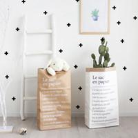 ingrosso bonsai fiore vaso-Artificiale Fiori Fiori Organizzatore Craft Holder Paper Bag Scrivania Bonsai Arte Vaso Pot riutilizzabile multiuso Home Office Decor