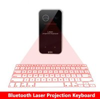 Wholesale laptop projection for sale - New Bluetooth Virtual Laser Projection Keyboard with Mouse Function for Smartphone PC Laptop Portable Wireless Keyboard