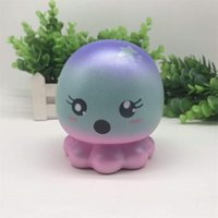 Wholesale photo gift business online - Squishy Starry Sky Octopus Decompression Toys Creative Cute Squishies PU Hand Squeezed Toy Photographing Take Photo Prop sya C R