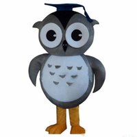 Wholesale owl fancy costume for sale - 2018 High quality Owl Mascot Costume Cartoon Fancy Dress Suit Mascot Costume Adult
