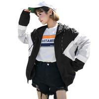 Wholesale big sizes womens clothing online - Plus Size Autumn Jacket Women Harajuku Zipper Pockets Clothes Bomber Jacket Winter Coat Womens Jackets Streetwear Big Size