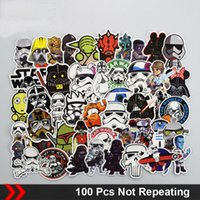 Wholesale funny car sale online - Hot Sale Mixed Stickers for Lage Laptop Decal Toys Bike Car Motorcycle Phone Snowboard Funny Doodle Cool DIY Sticker