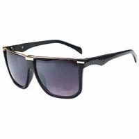 Wholesale sun goggles for children - HOT Luxury brand Hot sale Classic square frame Pra Sunglasses Metal Frame women men Brand Designer Sun Glasses For kids child UV400 8 color