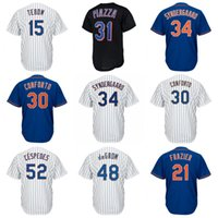 Wholesale michael manning - Custom New York #34 Noah Jacob DeGrom Yoenis Cespedes Tim Tebow Todd Frazier Steven Matz Michael Conforto Darryl Strawberry Jerseys