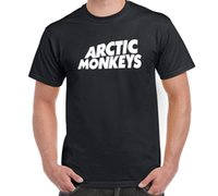 monos de roca al por mayor-Camiseta Artic Monkeys Logo Indie Rock Music Tamaño S-6XL