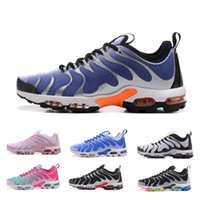 Wholesale size 14 flat shoes women - Men Women Best Quality TN Plus Casual Running Shoes 2018 Multi More 14 New Colors TN Cushioning Sport Sneakers Size 36-45
