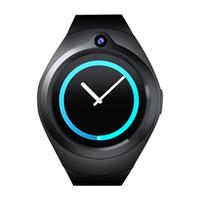 cámara de video de los teléfonos del reloj al por mayor-S216 Android 5.1 OS Smart Watch 1.3 pulgadas Cámara de frecuencia cardíaca Monitorización de la salud del video SmartWatch soporte para teléfono 3G WIFI SIM WCDMA