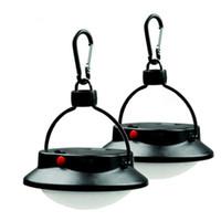 lanternas led venda por atacado-LEVOU Ultra Brilhante Ao Ar Livre Lâmpada de Acampamento Luz Tenda Com Abajur Círculo Recarregável Pesca Pendurado Caminhadas Lanterna Portátil 13cx dd