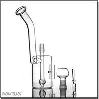 neue stil bubbler großhandel-Glas Snorkel New Dab Rigs Wasserleitung 2,5