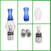 ingrosso tipi atomizzatore globo-M6 atomizzatore Globo in vetro atomizzatore singolo doppio al quarzo in ceramica bobine 7 tipo bobine per cera elettronica DHL gratuito per USA Canada
