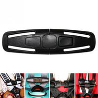 hebilla de cinturón de cierre al por mayor-14.5 * 4 cm Cinturón de seguridad para niños bebés Sujetador Cinturón de seguridad Arnés para el pecho Pecho con hebilla 5 puntos Accesorios para automóviles