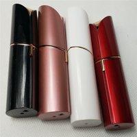 Wholesale Neck Trimmer - Hot Lipstick Facial Hair Remover Lipstick Plated Trimmer Neck Ear Painless Remover Depilator Razor Remover Face Hair Removal Epilator
