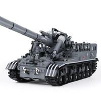 Wholesale Military Toys Tanks - XingBao 06001 The T92 Tank Set 1832pcs with Original Box for Reselling Lepin Blocks Creative MOC Military Series XB06001 Lepin Toys