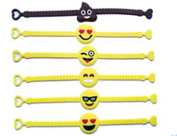Wholesale party supplies mix for sale - Group buy Pawliss Emoji Bracelets Wristband Birthday Party Favors Supplies for Kids Girls Emoticon Toys Prizes Gifts Rubber Band Bracelet