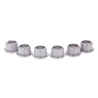 Wholesale adapter for guitar resale online - 5 Pack Guitar Tuner Conversion Bushings Adapter Ferrules Nickel Plating with nice Metal Housing for mm Peghead Holes Silver