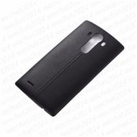 rückseitige abdeckung nfc großhandel-100 STÜCKE Batterie Rückseitige Abdeckung Gehäuse Fall Tür Hintere Abdeckung + NFC für LG G4 H815 H810 H811 LS991 US991 VS986
