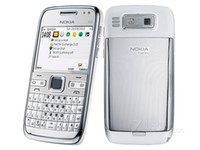 Wholesale Phone E72 - wholesale original Time-limited Color Slim(9mm-10mm) Original Nokia E72 with 3G WIFI GPS 5MP camera refurbished Cell Phone 30pc free DHL