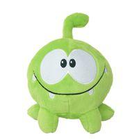 kurbağa peluş toptan satış-Güzel 7 inç 20 cm om nom kurbağa peluş oyuncaklar kesim halat yumuşak dolması şekil klasik oyuncaklar oyunu bebek çocuklar için hediye