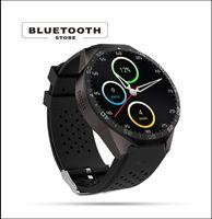электронная почта google android оптовых-Смарт-часы KW88 1,39 дюйма дисплей с Sim-карты / GPS / WIFI / 3G с Android 5.1 OS камеры звукозаписи Google Maps услышать скорость